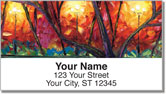 Sunset Serenade Address Labels