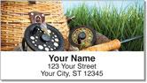 Fish Basket Address Labels