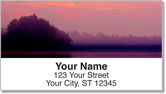 Colorful Cloud Address Labels
