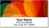 Colorful Light Address Labels