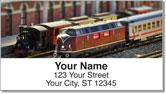 Model Train Address Labels