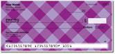 Purple Plaid Checks