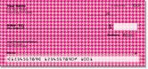 Pink Houndstooth Checks