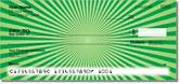 Green Starburst Checks