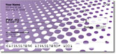 Purple Halftone Checks