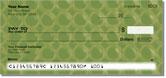 Green Bubble Pattern Checks