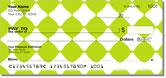 Lime Green Bead Checks