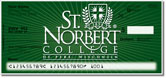St. Norbert Academic Checks