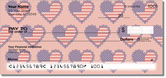 Patriotic Heart Checks