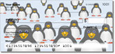 Cute Penguin Checks
