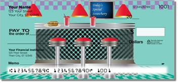 Fifties Diner Checks