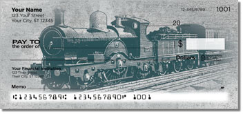 Vintage Train Checks