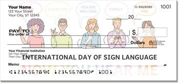 Sign Language Checks