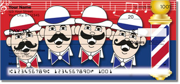 Barbershop Quartet Checks