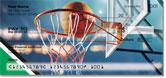 Green & Black Basketball Checks