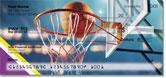 Purple & Gold Basketball Checks
