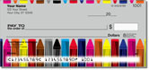 Cute Crayon Checks