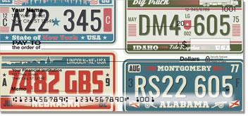 License Plate Checks
