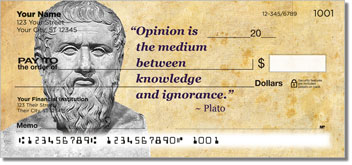 Greek Philosopher Personal Checks