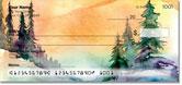 Pine Tree Painting Checks