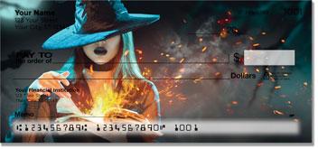 Halloween Witch Checks