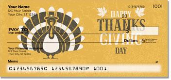 First Thanksgiving Checks