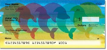 Rainbow Dolphin Checks