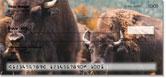 American Bison Checks