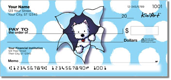 Westie KiniArt Series Checks