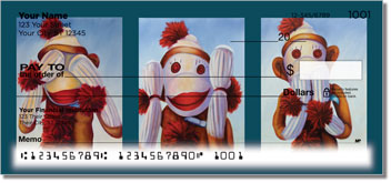 Sock Monkey Checks