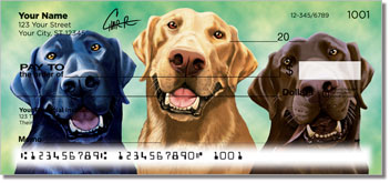 Labrador Retrievers of All Colors Checks