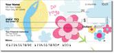 Mod Floral Checks