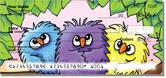 Bird Series Checks by Kim Niles of KiniArt