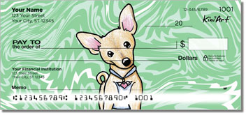 Chihuahua KiniArt Series 1 Checks