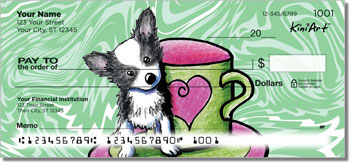 Chihuahua KiniArt Series 2 Personal Checks