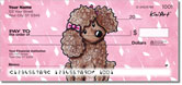 Poodle Series Checks by Kim Niles of KiniArt