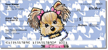 Yorkie KiniArt Series 1 Checks