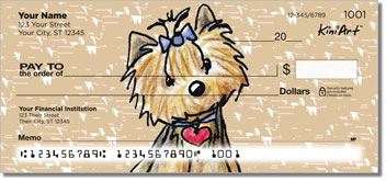 Yorkie KiniArt Series 2 Checks