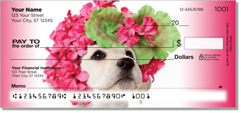 Pups in Bloom 1 Checks