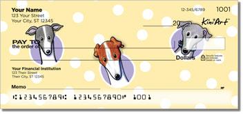 Greyhound Art Checks