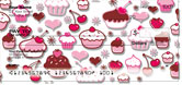 Cupcake Shoppe Checks by Miss Fluff