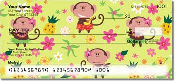 Hula Monkey Checks