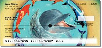Swimming Dolphin Checks