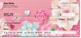 Pink Flower Checks