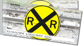 Railroad Crossing Side Tear Checks
