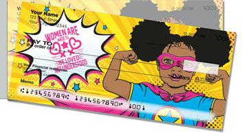 Women's Equality Side Tear Checks