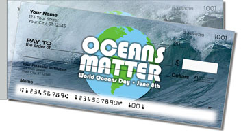 World Oceans Day Side Tear Checks