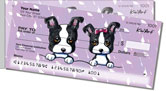 Boston Terrier Side Tear Checks