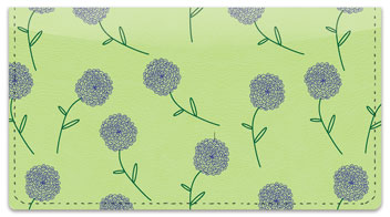 Shower of Flowers Checkbook Cover