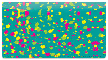 Paint Splatter Checkbook Cover